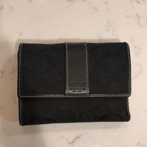 Coach wallet, excellent condition
